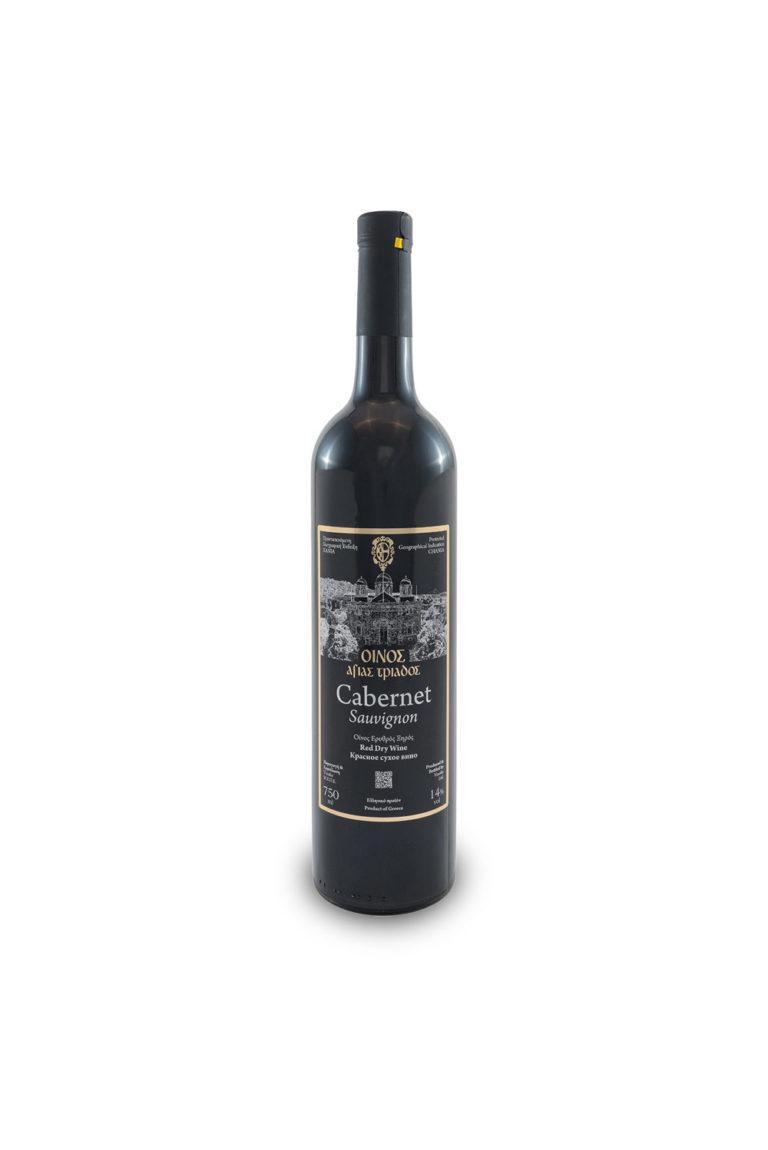 Монастырское вино Каберне Совиньон красное сухое, 750 мл