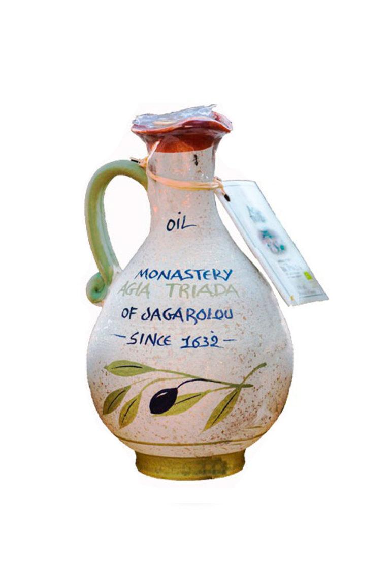 Оливковое масло Extra Virgin, Органическое, Кувшин  750 мл