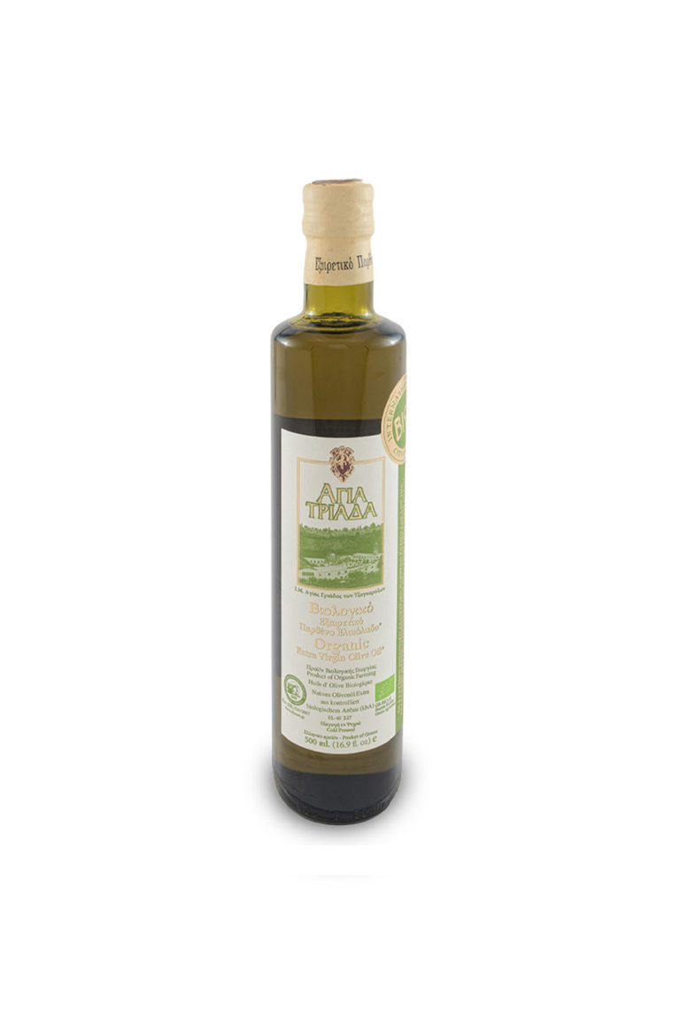 Оливковое масло Extra Virgin, Органическое, 500 мл
