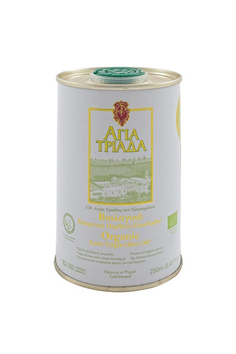 Оливковое масло Extra Virgin, Органическое, 250 мл