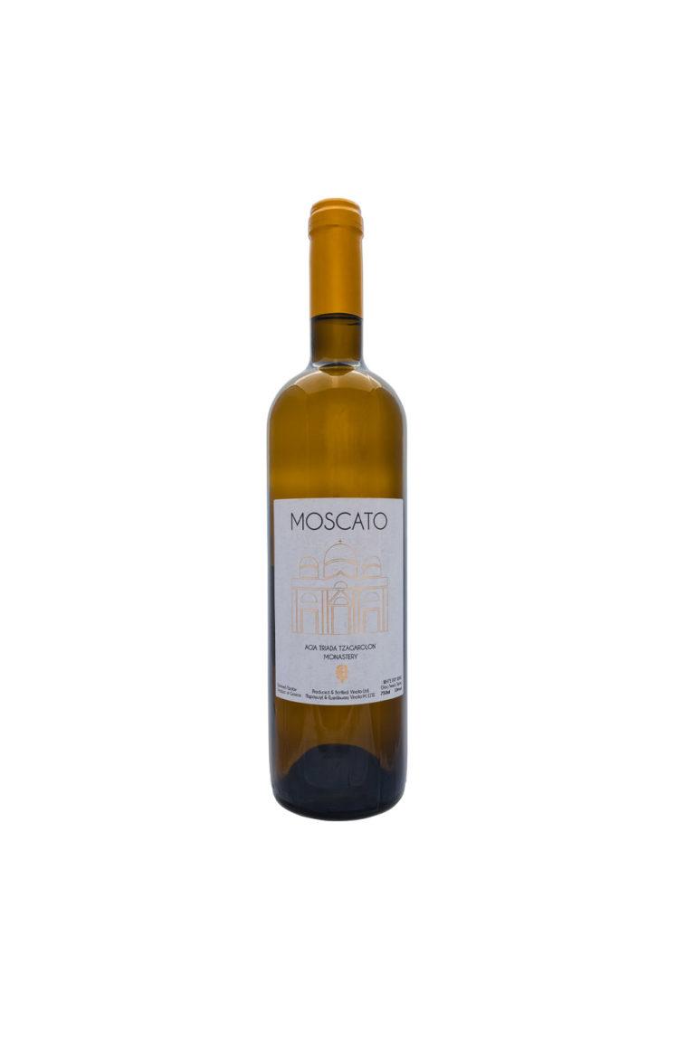 Монастырское вино Мускатное белое сухое, 750 мл